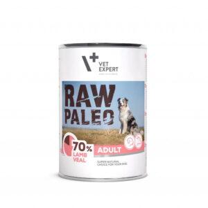 Raw-Paleo-Hundefutter-Nassfutter-Lamm-und-Kalbfleisch