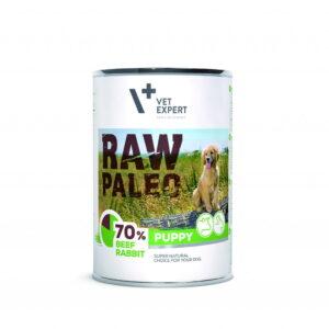 Raw-Paleo-Puppy-Hundefutter-Nassfutter-Rind-und-Kaninchen