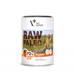 Raw-Paleo-Puppy-Hundefutter-Nassfutter-Truthahn-und-Ente