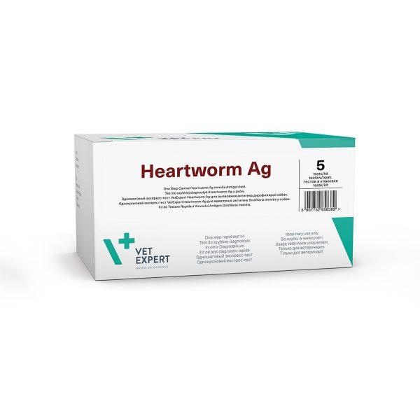 VetExpert Heartworm Ag Schnelltest Diagnostik Schnelle diagnostische Tests für Diagnose einer Infektionskrankheit Infektionen Tierarztbedarf, Veterinärbedarf, Veterinärmedizin, Praxisbedarf, Ergänzungsfuttermittel, Tierarztprodukten, Tierapotheke, Tierpflegeprodukte